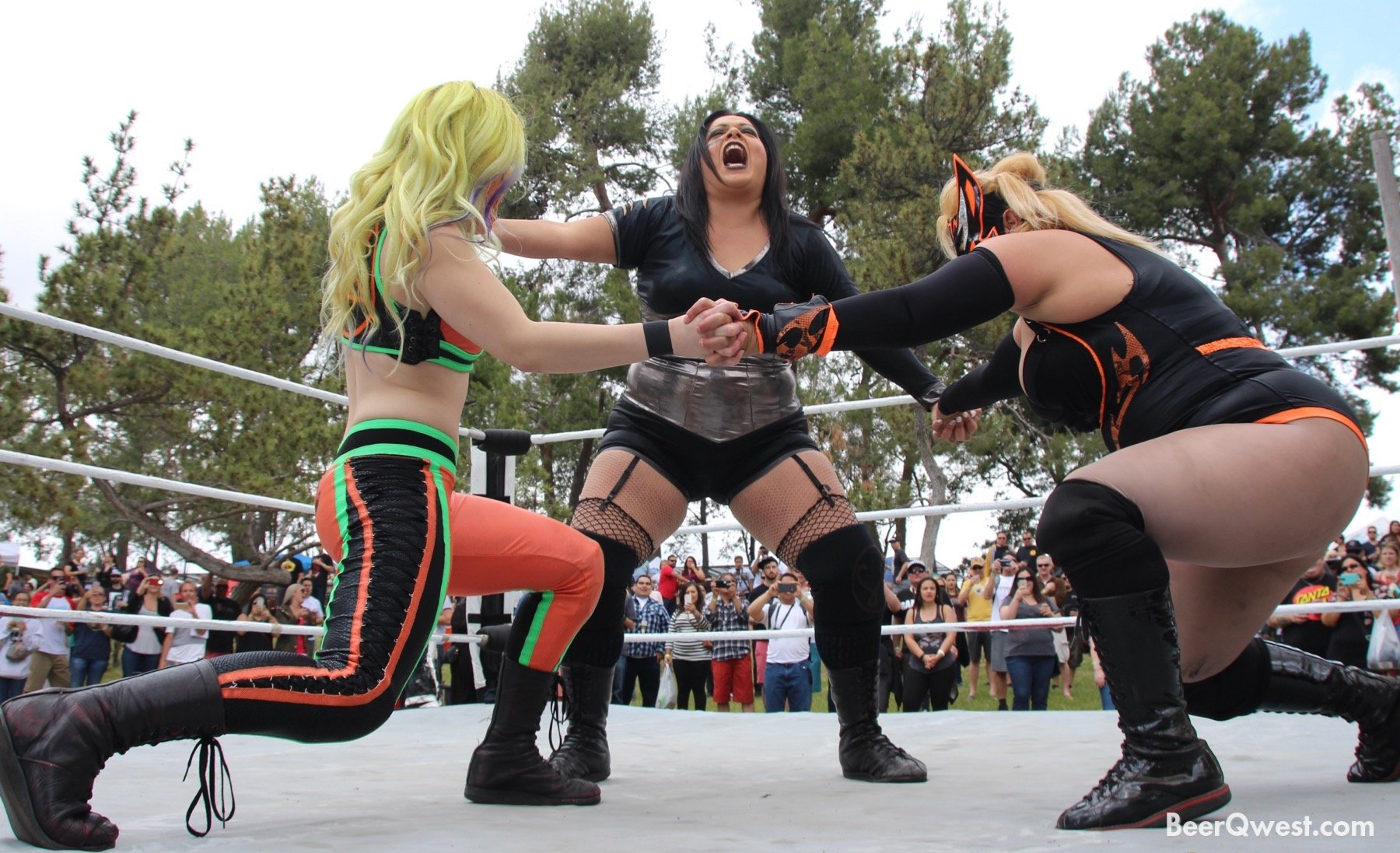 Female Ring Fighters
