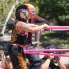 Lucha Libre Performers at Sabroso