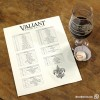 Maple Red IPA with Carrot Cake Truffle at Valiant Brewing Company