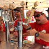 Pouring at Dale Bros Booth
