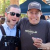Andy Black of MacLeod Ale Brewing Company (L), Evan Price of Noble Ale Works (R)