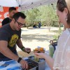 Serving up chili from Iron Press at Firkfest 2015