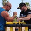Arm Wrestling at Brew With a View Riverside Air Show 2015