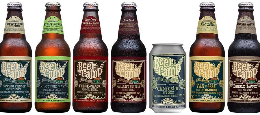 Beer Camp Bottle Line-up
