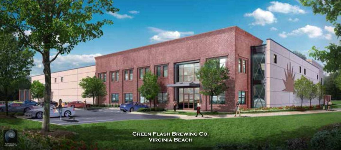 Green Flash Brewing Company Virginia Beach Expansion