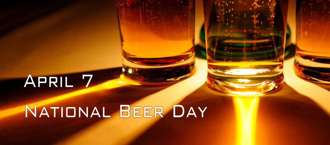 National Beer Day April 7, 2013