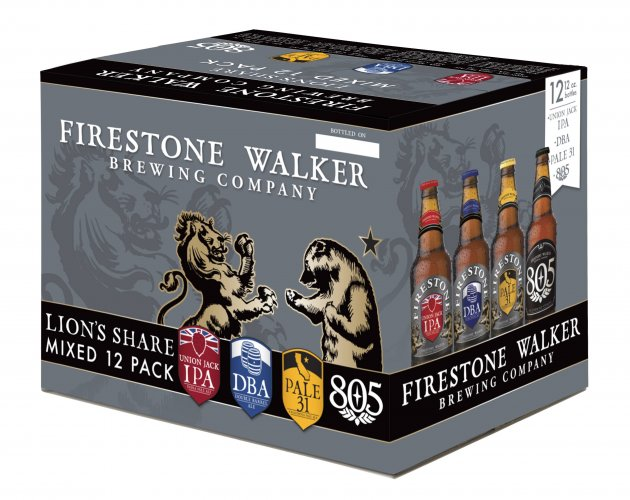 Firestone Walker Lion's Share Mixed 12 Pack