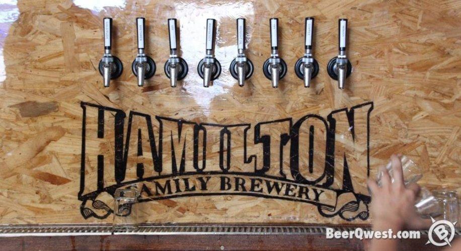 Hamilton Family Brewery, Taps