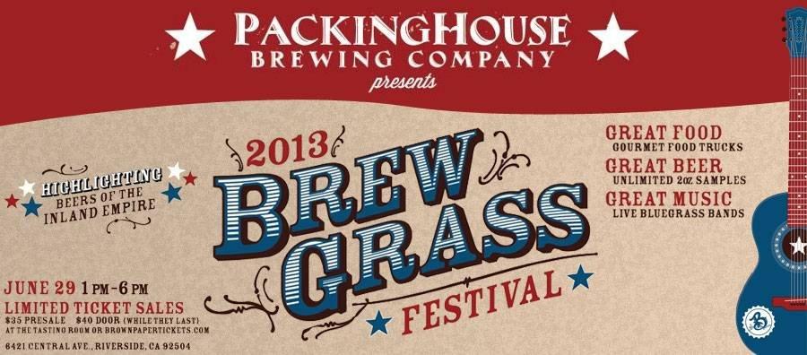 2013 Brewgrass Festival Riverside, CA