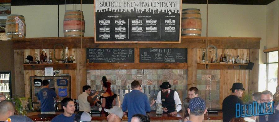 Societe Brewing Company - Tap Room