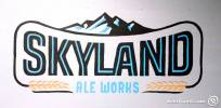 Skyland Ale Works Painted Logo